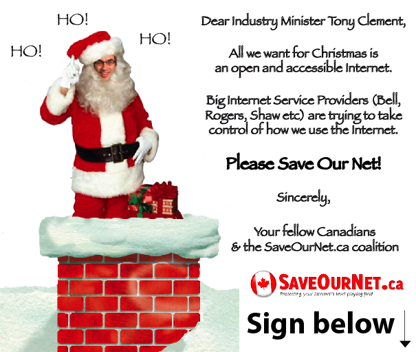 Tony Clement SaveOurNet