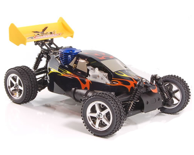 1/10 SCALE GAS POWERED CAR;