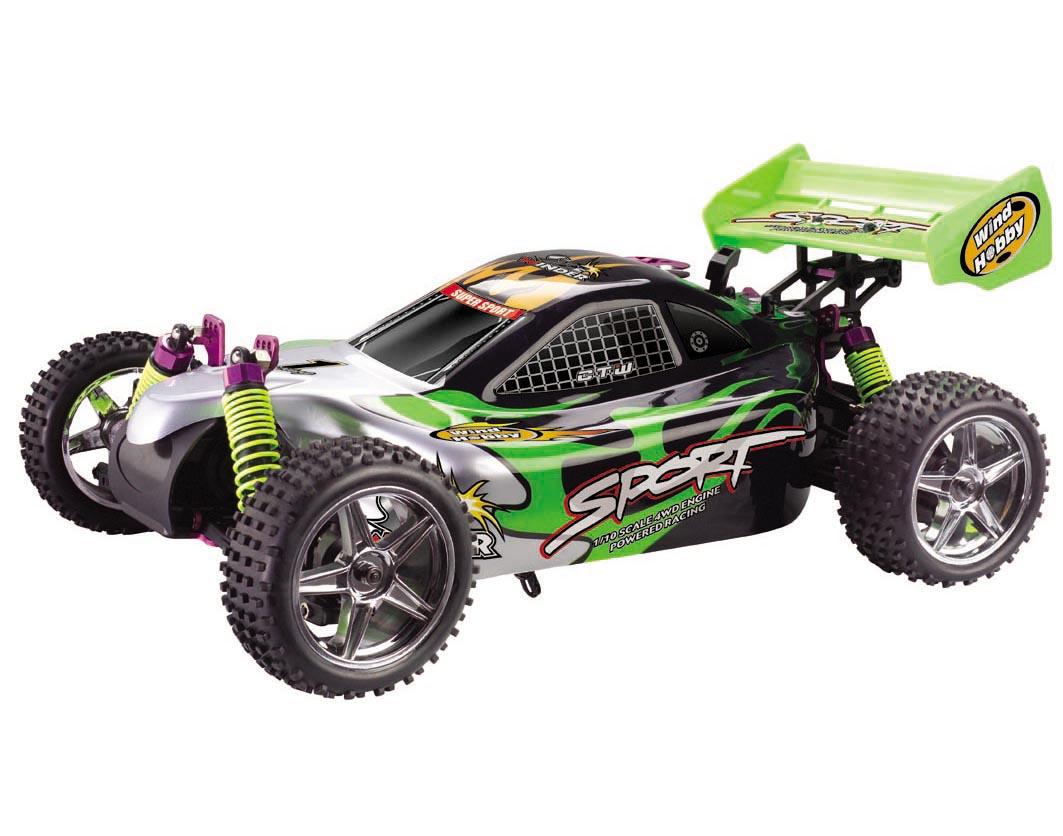 1/10th Scale Nitro RC Car 4WD