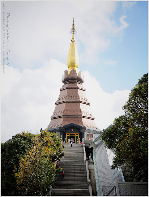 Photograph Temple Chedi Chiangmai Doi Inthanon