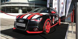 Gebrakan Audi A1 AC Milan