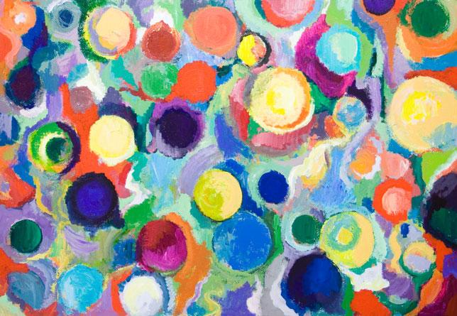 Colorful Grunge Art Design Wallpaper Colorful Background
