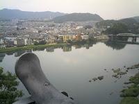 犬山城天守閣からの眺め(西側)