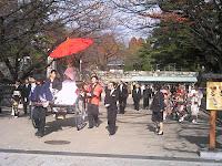 名古屋城正門 花嫁さん