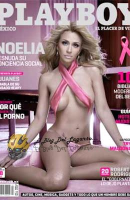 La cantante puertorriqueña Noelia es la nueva conejita de la revista ...