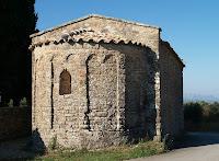 Absis de la capella de Santa Cecília