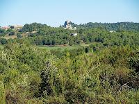 El Castell de Granera camí de Tantinyà