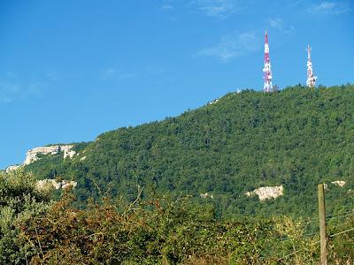El Puig Castellar des de les Roquetes