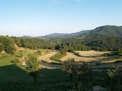 La vall de Sora des del Mas d'Amunt