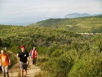 Els Cingles de Gallifa vistos des de la Serra del Magre