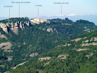 Vistes cap al nord des de la Roca del Corb