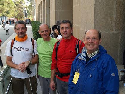 Ronda Vallesana 2010 amb l'amic Òscar de Sant Feliu de Llobregat