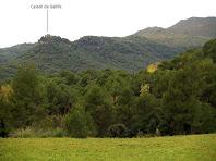 El Castell de Gallifa des del Pla de Cabanyelles