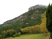 Els Cingles de Gallifa des del Pla de Cabanyelles