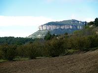 Els Cingles de Gallifa des de les Vinyes del Masclans