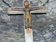 El Crist de l'altar de sant Martí Xic. Autor: Carlos Albacete