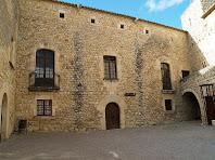 Pati interior del Castell de Sant Martí Sarroca