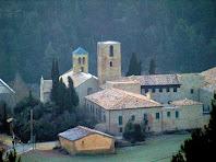 Monestir de Sant Benet de Bages des del Mirador de Sant Benet
