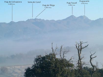 Vista panoràmica de ponent des del Santuari de Puig Agut