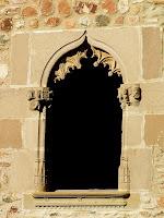 Finestra gòtica de la masia de Palaudàries