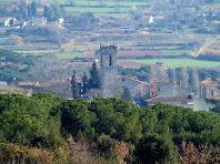 Església de Sant Julià de Lliçà d'Amunt vista mentre anem a Can Bosc