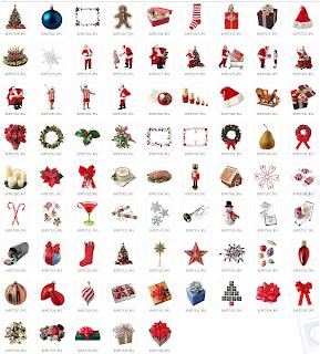 Objetos navide os para tus dise os my blog 3 - Motivos navidenos dibujos ...