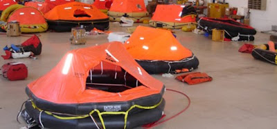 Life Raft Check Up