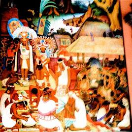 Moctezuma en Mural