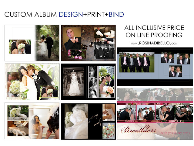 dibello 39 s wedding portrait photography studio custom wedding album