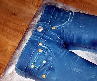 Cake Fiction True Religion Blue Jeans Cake