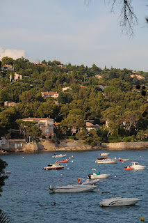 Le Lavandou coastline, Provence