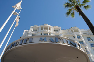 Hotel Martinez entrance, Cannes