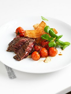 Miso marinated steak, The Modern Pantrym Clerkenwell