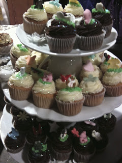 Cupcake tower, Love Bakery