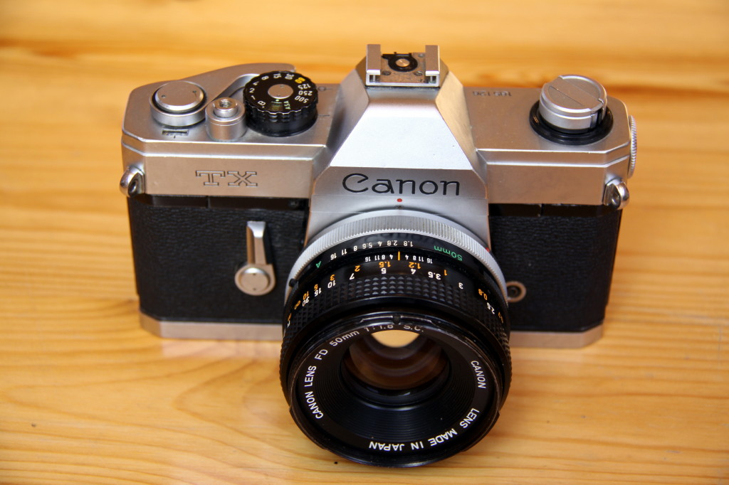 manual slr tx instruction canon camera