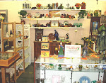 """Marian's Treasures""--our booth at Barze Place Antique Mall"