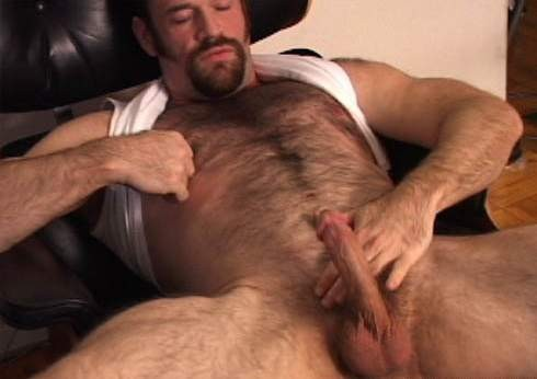 Male nipple lick