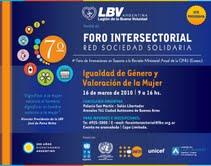 Agradecemos al Foro Interesectorial vuestra Invitación y lo hacemos partícipes a la RED 18/Marzo/20