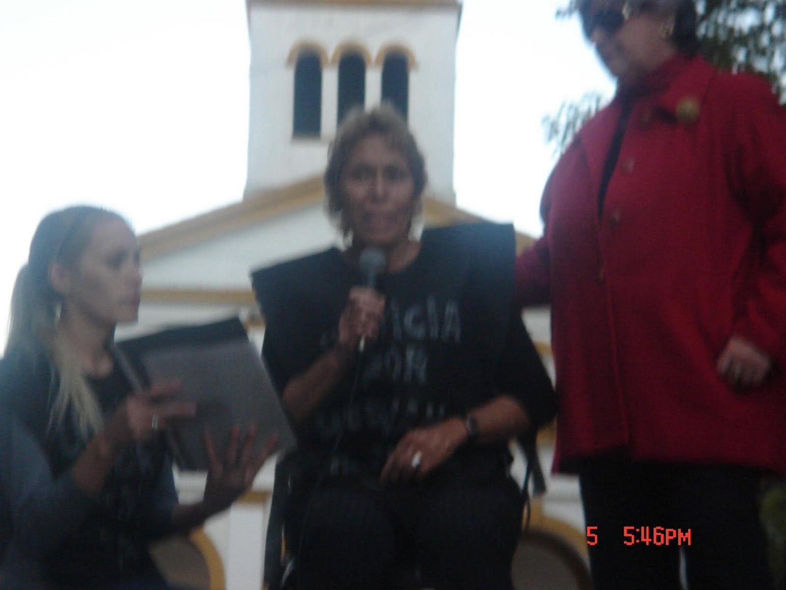 Concepción y Débora Madre y Hermana de Hernán.