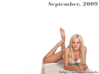 Irena Ampova, Wallpaper for September 2009