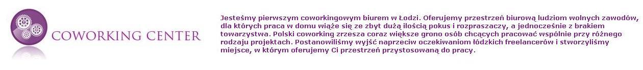 Coworking Łódź