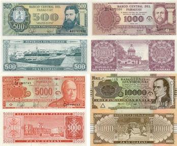 BCP eliminará tres ceros de los guaraníes a partir de 2011