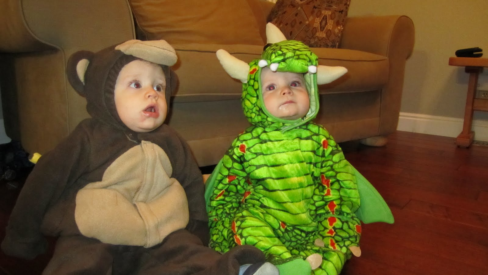 The friends two monkeys and a dragon. Hudson Carter and Riley- best buddies!  sc 1 st  Natalie and Logan & Walter Family: Happy Halloween