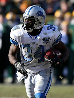 Detroit Lions Running Back Kevin Smith