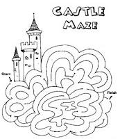 halloween castle maze