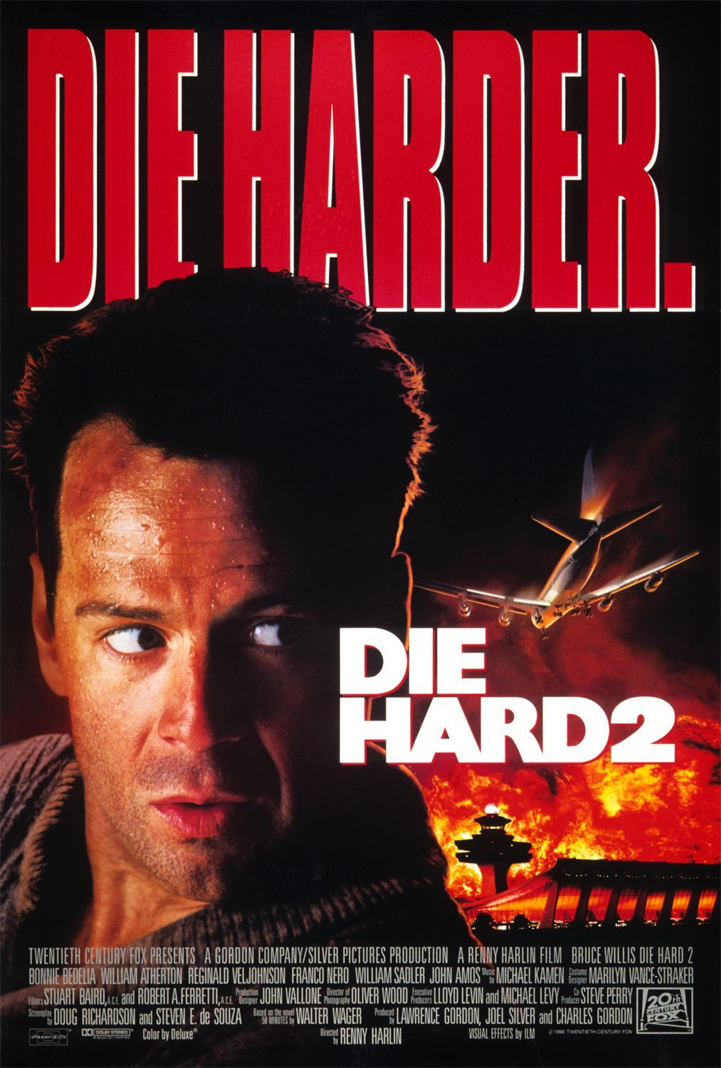 Free movie, Film shared: DIE HARD 2, Die Harder (1990)