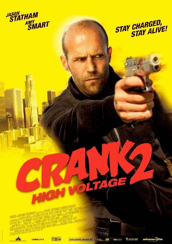 Free movie, Film shared: CRANK 2 High Voltage (2009)