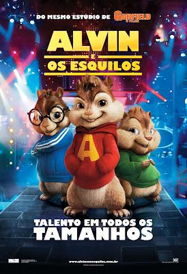 Filme Poster Alvin e os Esquilos - DVDRip - RMVB - Dublado
