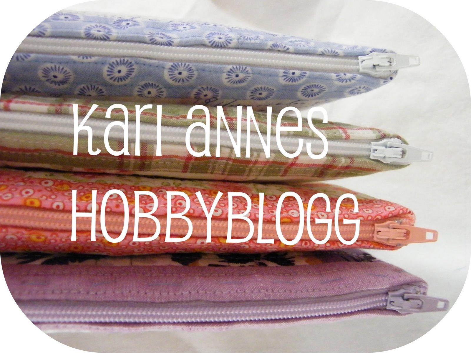 Kari Annes hobbyblogg