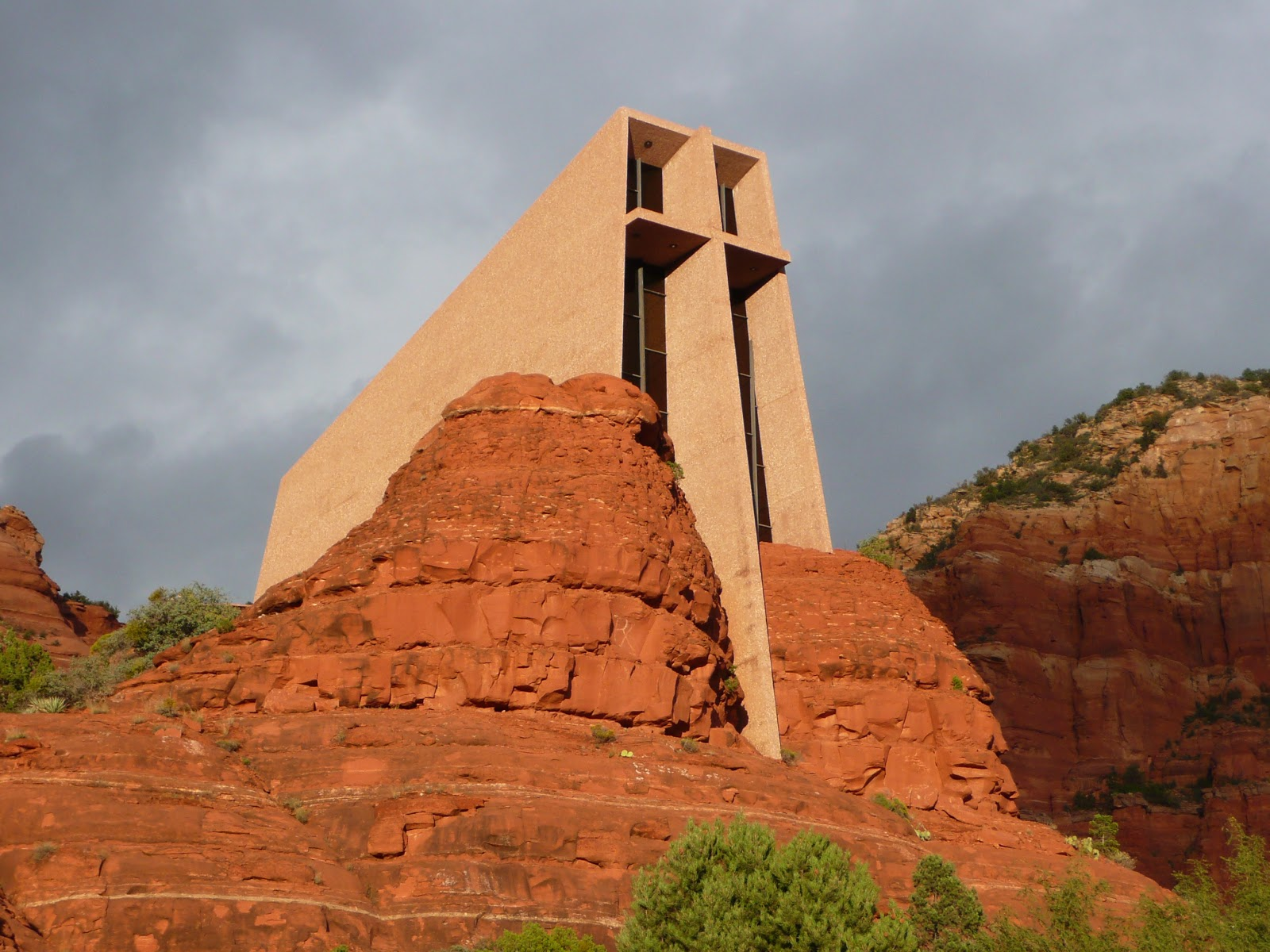 Life At 55 Mph Chapel Of The Holy Cross In Sedona